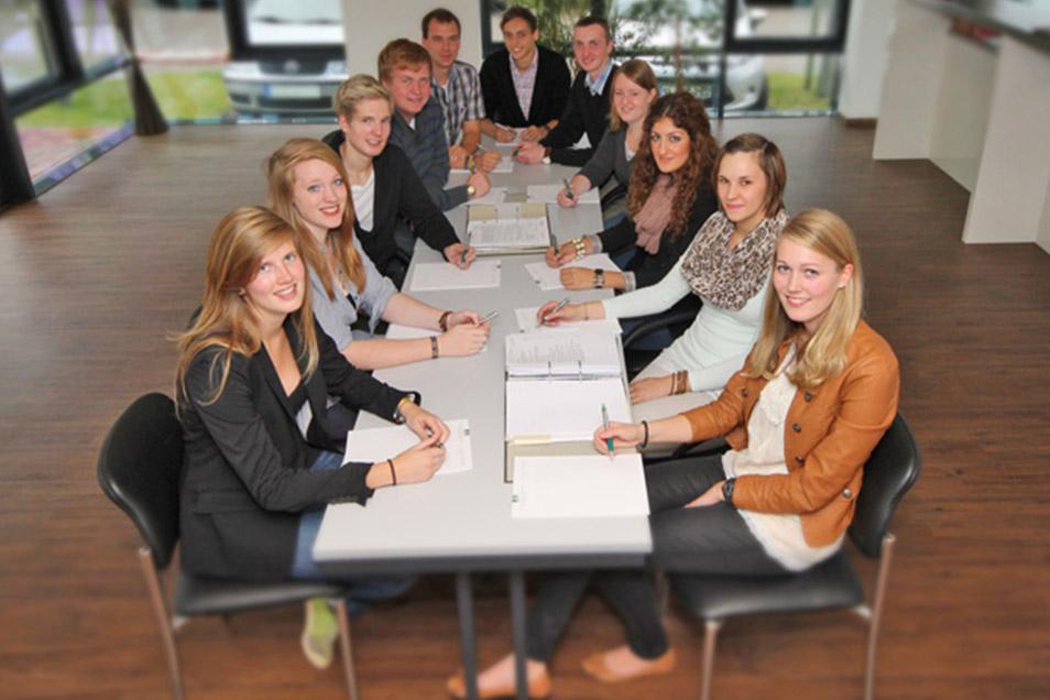 Azubis Team Weitkamp Hirsch Steuerberatungsgesellschaft mbH