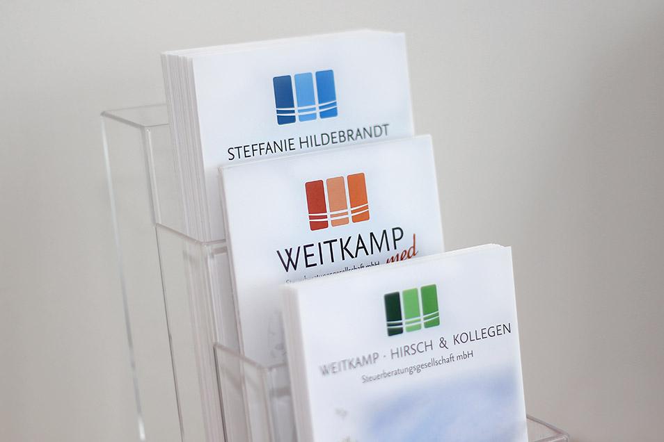 Flyer Weitkamp Hirsch Steuerberatungsgesellschaft mbH