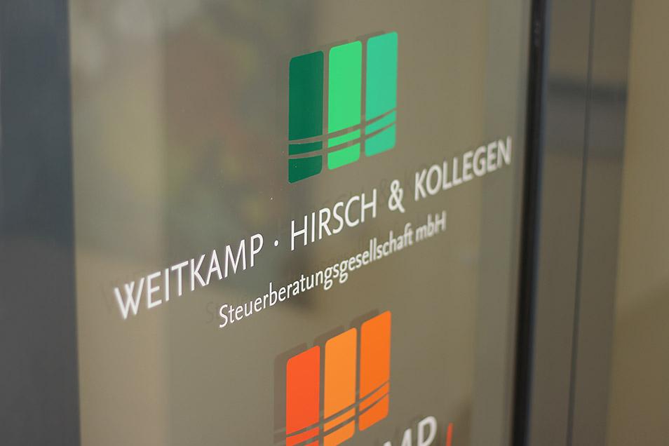 Kanzlei Eingang Weitkamp Hirsch Steuerberatungsgesellschaft mbH